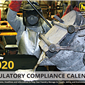 2020 Regulatory Compliance Calendar